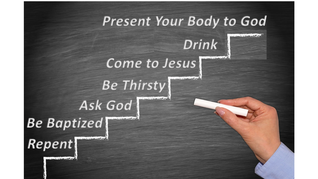 How to Receive the Fullness of the Holy Spirit - faithworks